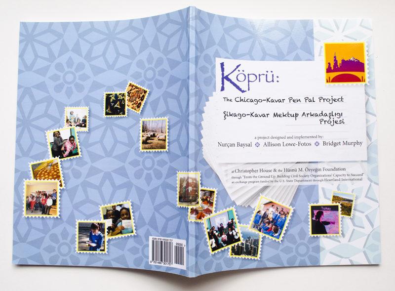 Kopru: Chicago-Kavar Pen Pal Project. Book Design. 2011.