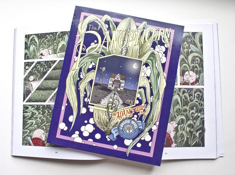 Panopticorn. Book Design. Cover Illustration.
